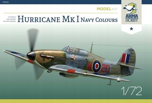 Arma Hobby 70022 Hurricane Mk I Navy Colours