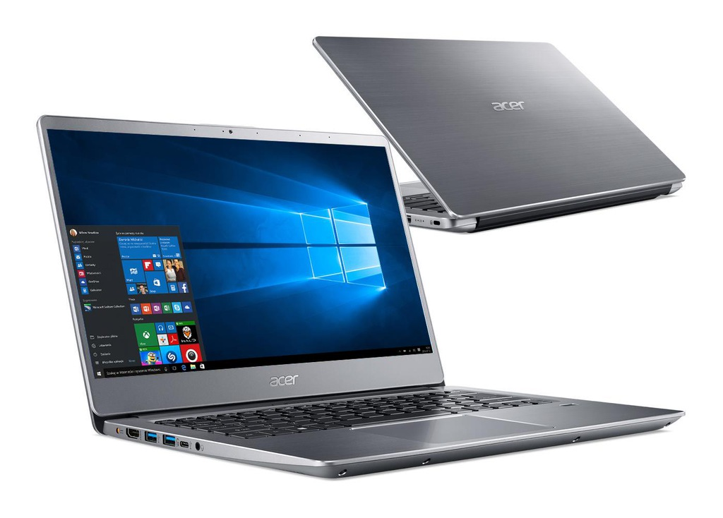 OUTLET Acer Swift 3 i3 8GB 256SSD FHD IPS Win10