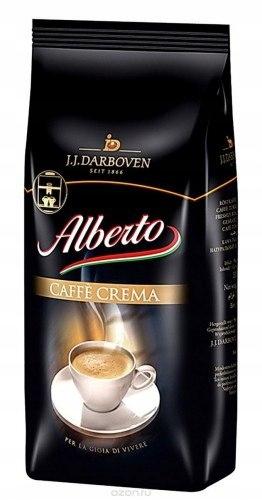 Alberto Caffe Crema 1kg J.J. Darboven kawa ziarnis
