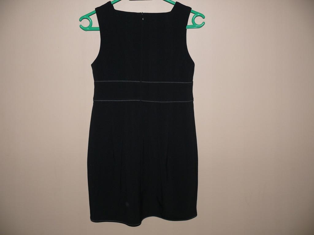 Sukienka czarna elegancka Wójcik 146 j nowa szkoła