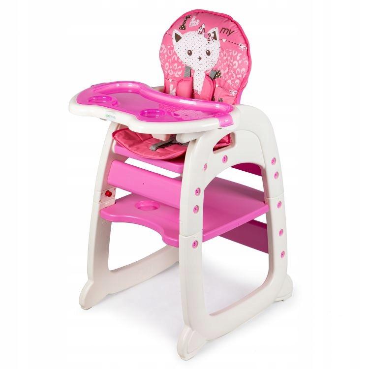 Fotelik do karmienia 2w1 pink