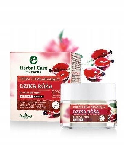 Farmona Herbal Care Krem odmładzający z różą na dz