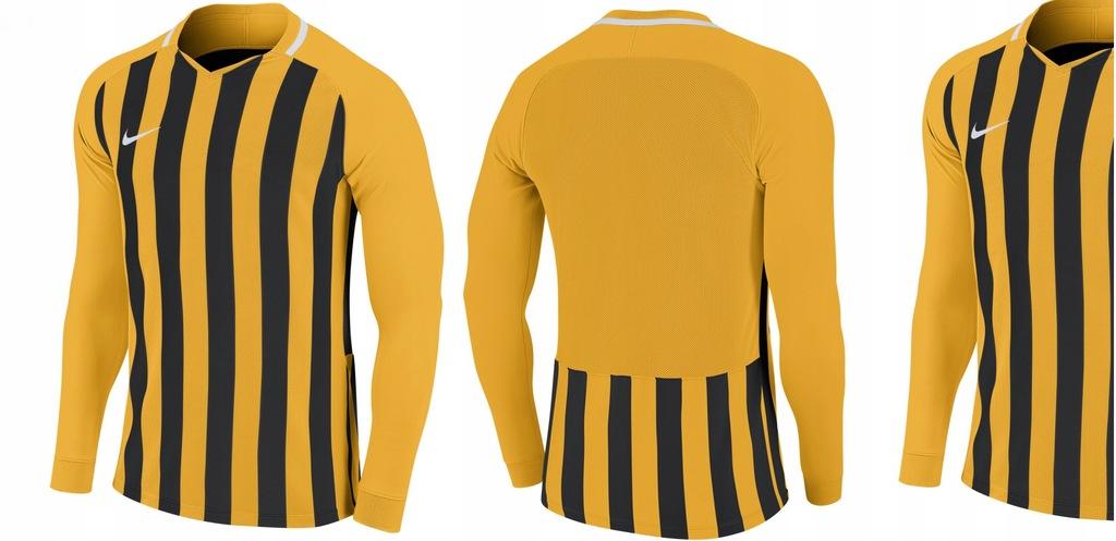 *_NIKE DRI-FIT Sportowa Bluzka STRIPED DIVISON III