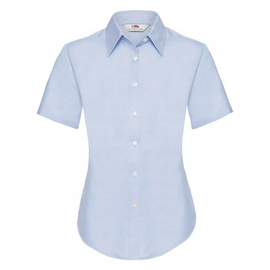 DAMSKA koszula OXFORD SHORT FRUIT błękit 2XL