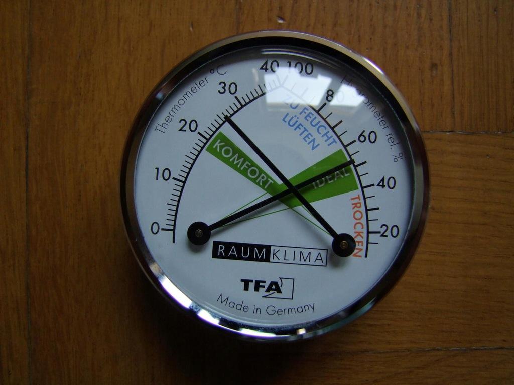Okazja TFA termometr higrometr analogowy