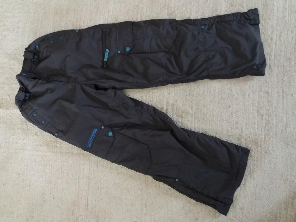 Spodnie ocieplane narciarskie Coccodrillo 146 cm