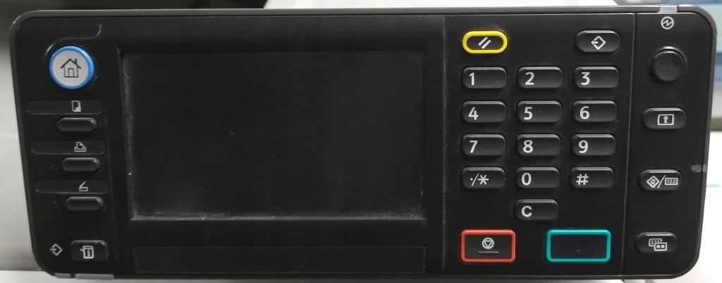 Ricoh Aficio MP C305 spf - panel sterowania