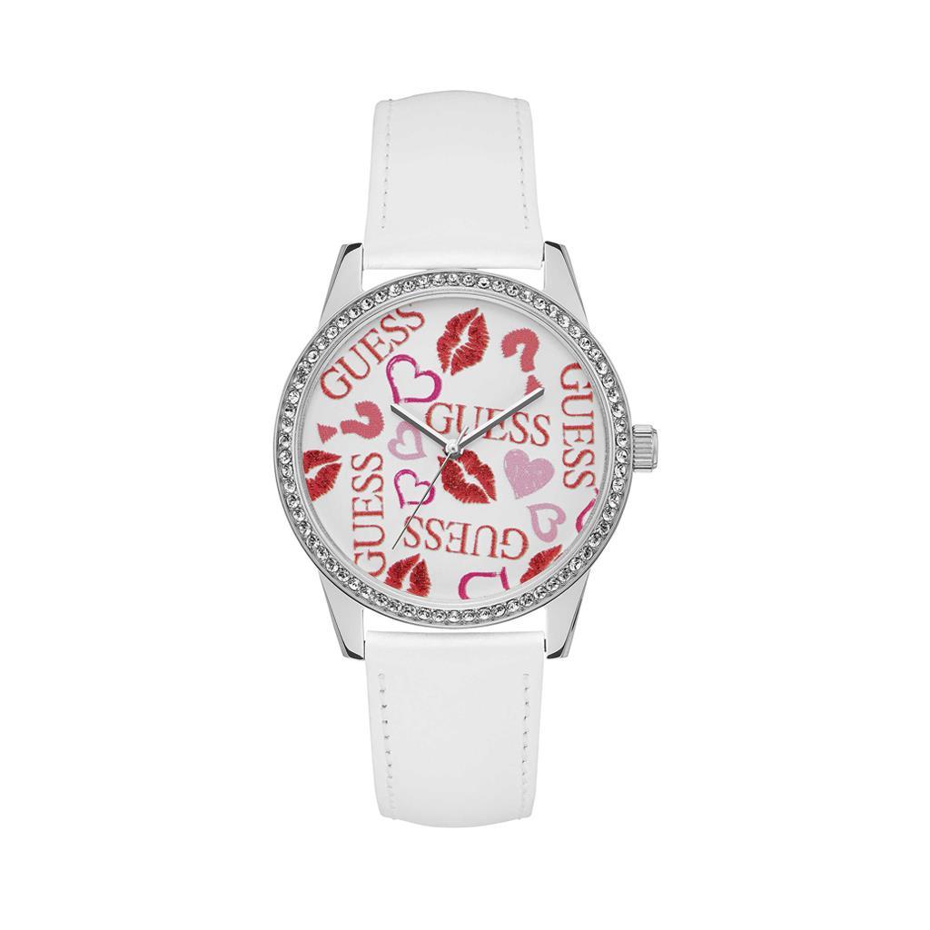Guess damski zegarek biały