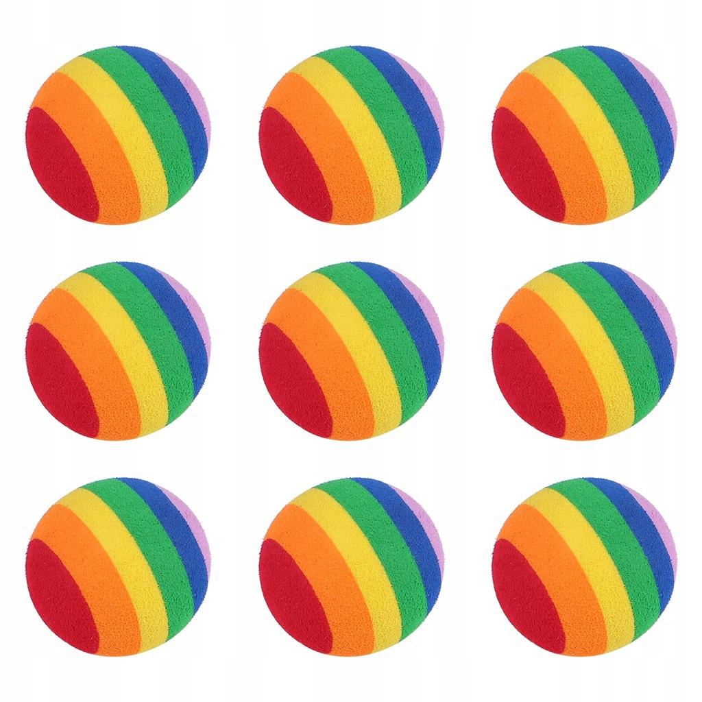 20 sztuk Rainbow Ball EVA Piłka golfowa Trening go