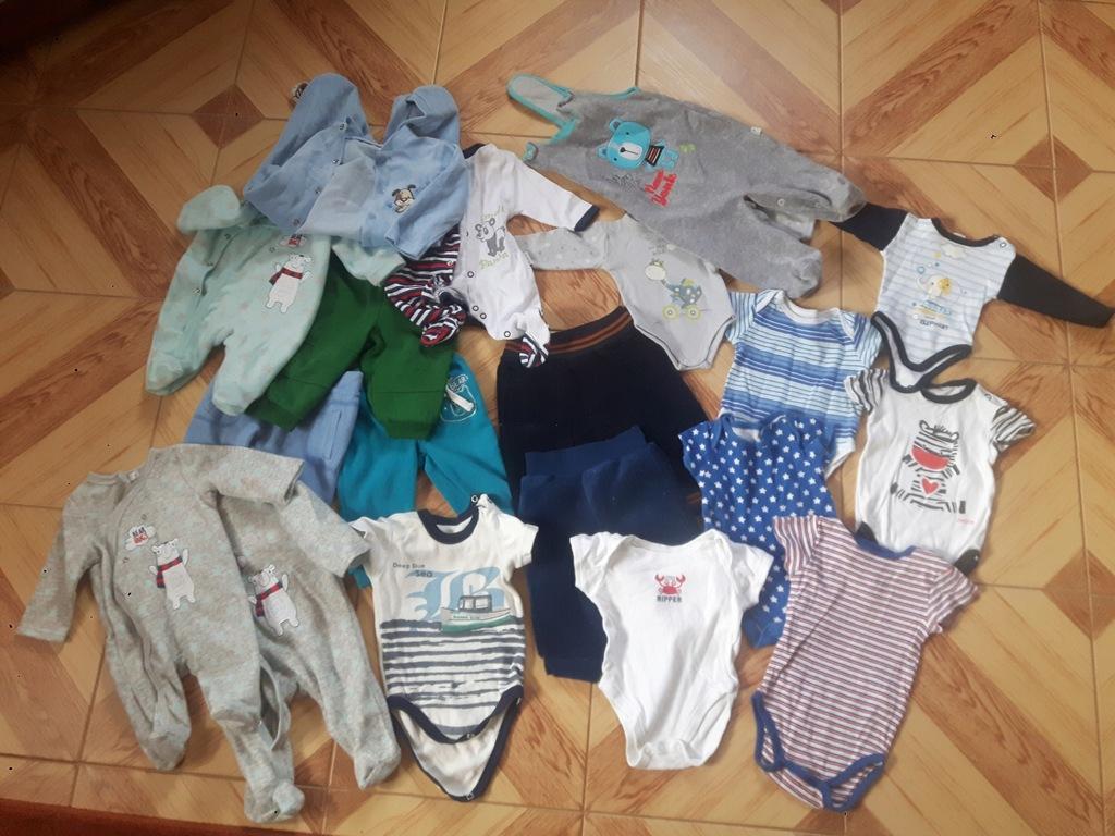 Paka ubrań dziecięcych r.56-68