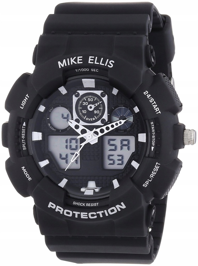 Zegarek MIKE ELLIS SL4-60221 męski stoper nowy