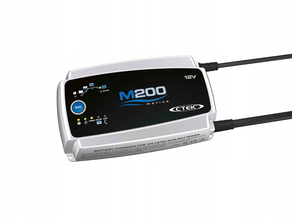 CTEK M200 15A Marine Battery Charger and Conditioner
