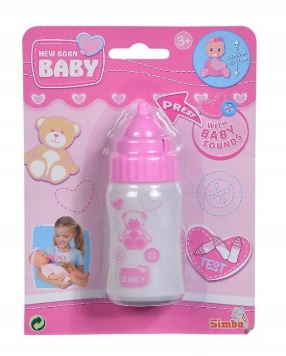 NEW BABY BORN - MAGICZNA BUTELKA Z DŹWIĘKIEM