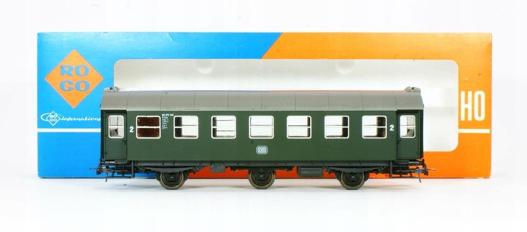 Roco. Wagon osobowy II klasa DB IV ep.