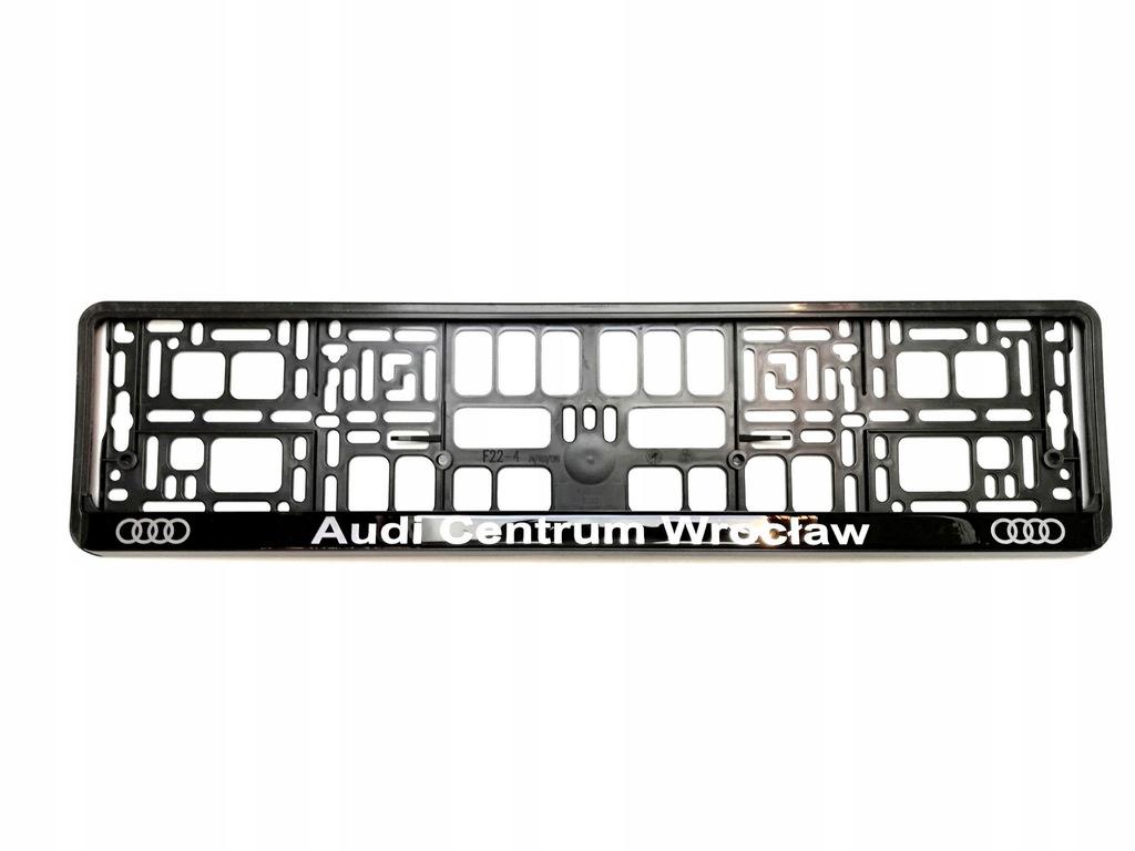 Ramka Tablicy Rejestracyjnej Audi Centrum Wroclaw 8103536440 Oficjalne Archiwum Allegro