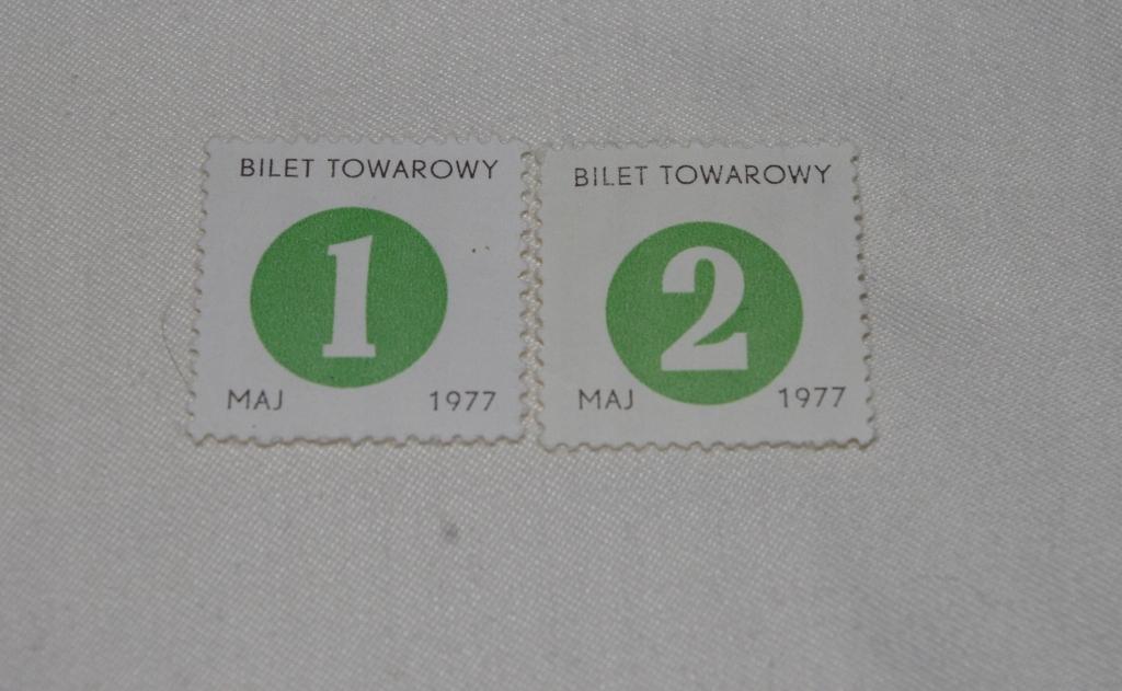 KARTKI NA CUKIER V 1978r