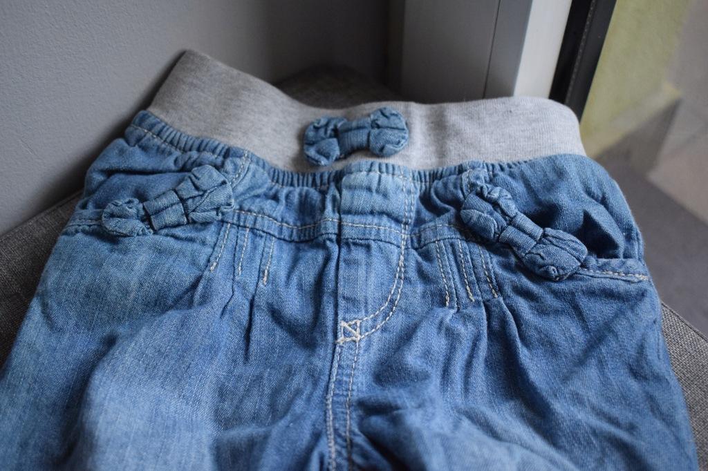 spodnie ocieplane roz 80