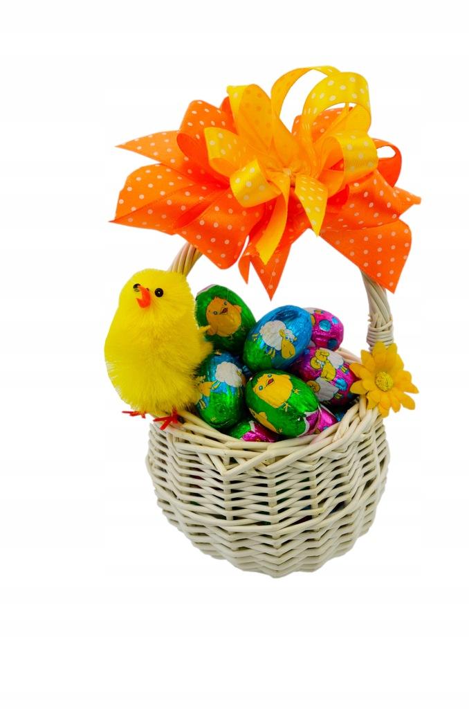 Zestaw Koszyk Wielkanoc Jajka Baron 380g + Kurczak