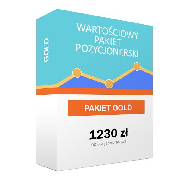 WARTOŚCIOWY PAKIET POZYCJONERSKI GOLD - 30%