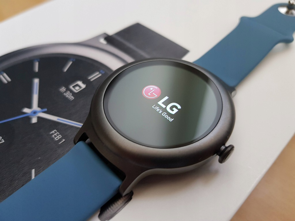 LG Watch Style Titanium Android Wear