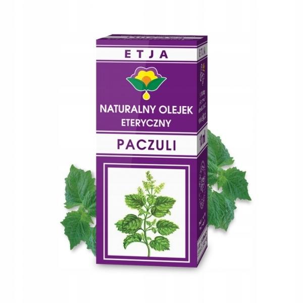 Naturalny olejek Paczulowy 10ml Etja
