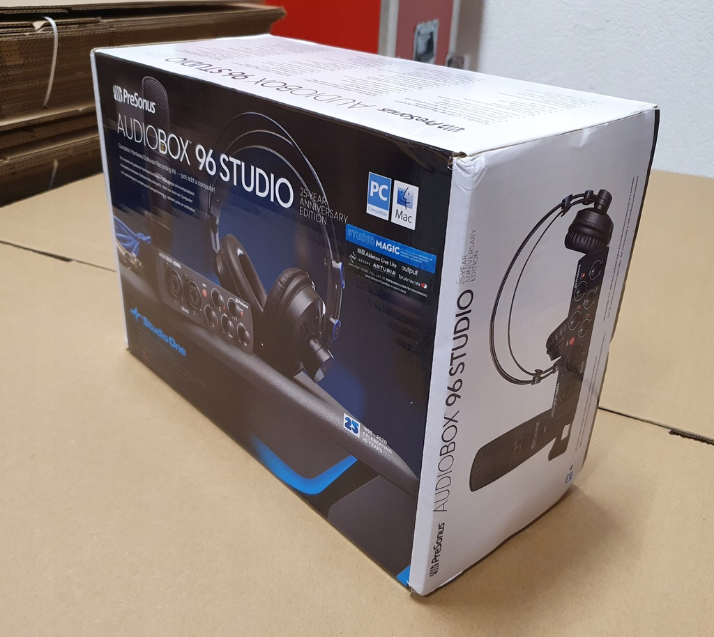 PRESONUS AUDIOBOX USB 96 STUDIO 25th: Zestaw nagra