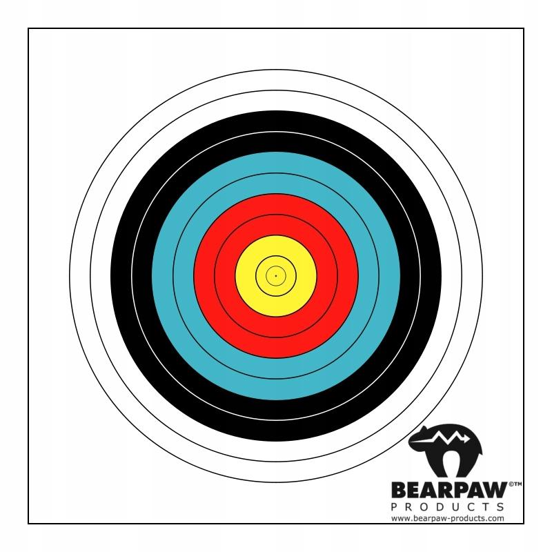 Tarcza fita 80cm Bearpaw Bodnik 10szt