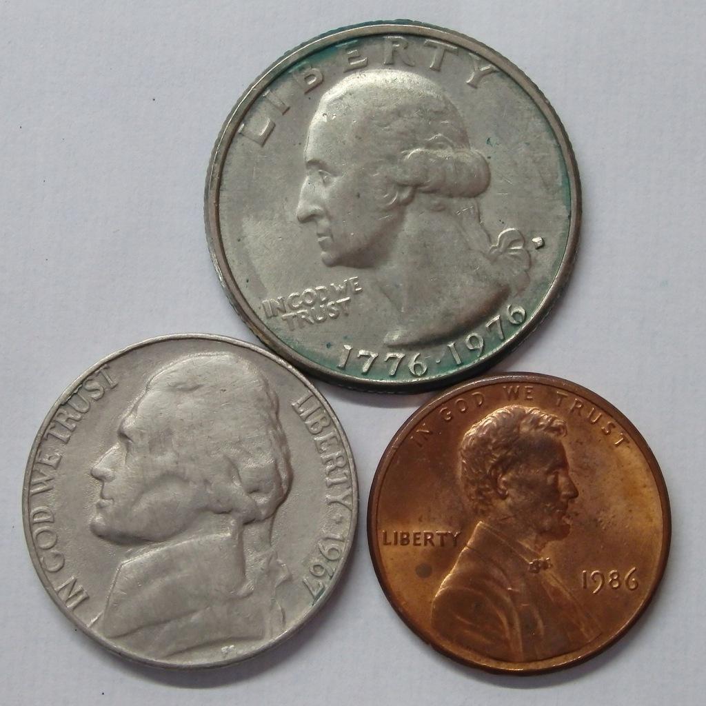 Zestaw monet USA MIX BCM(A1347)
