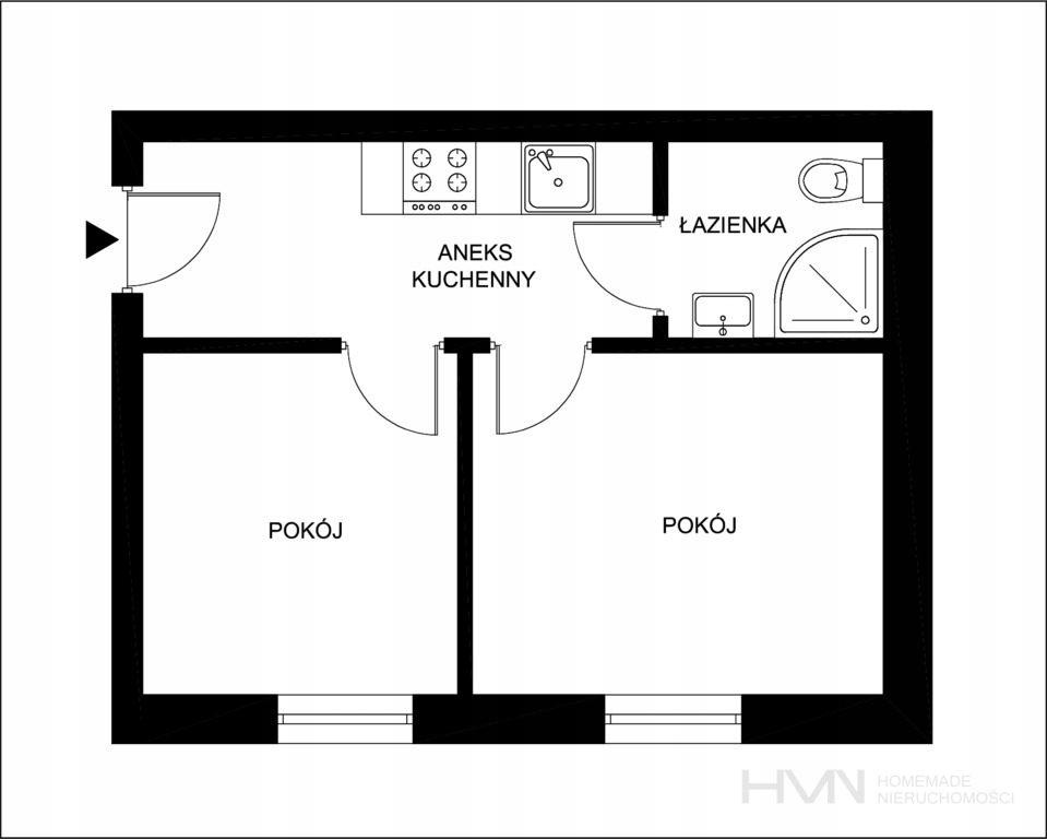 Mieszkanie, Kraków, Bronowice, Bronowice, 26 m²