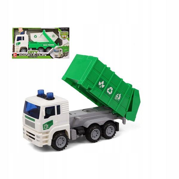 Śmieciarka Światło Dźwięk Kolor zielony 119206