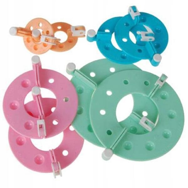 4szt Różnej wielkości Essential Pompom Makers Fluf