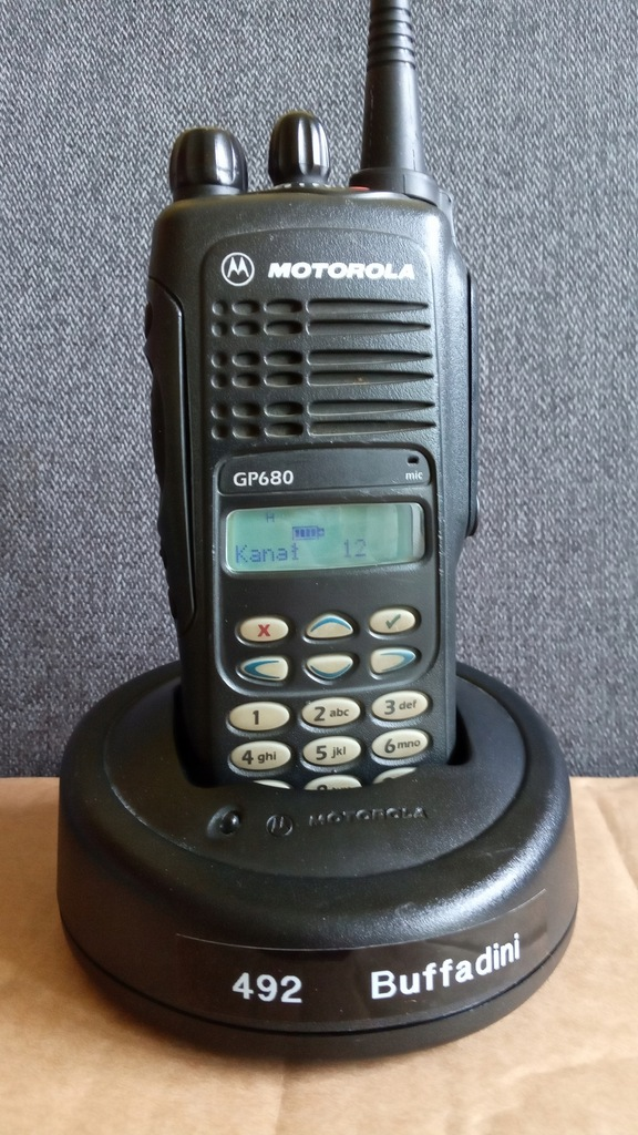 Radiotelefon Motorola GP680 UHF nowa bateria