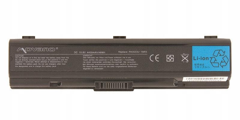 Bateria Movano do Toshiba Dynabook AX/52E AX/53C