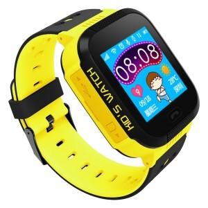Watch Phone Go z lokalizatorem GPS żółty