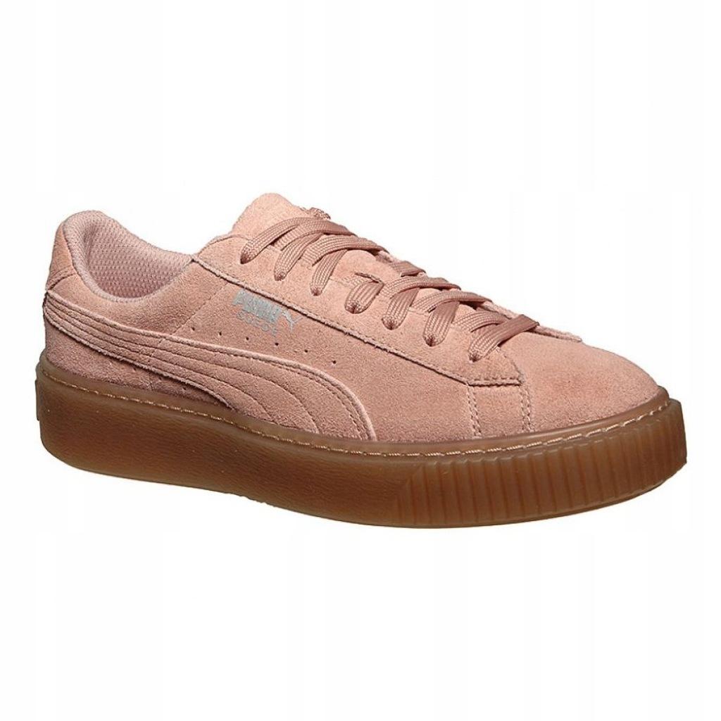 Buty damskie sneakersy Puma Suede Platform Jewel Jr 365131