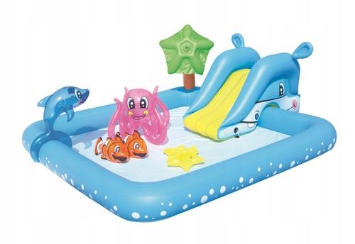 Playcenter BASEN dla dzieci AKWARIUM BESTWAY 53052