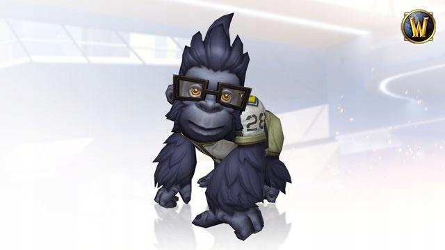 World of Warcraft Pet Overwatch - Mały Winston
