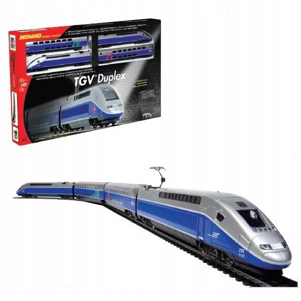 MEHANO ZESTAW STARTOWY: TGV DUPLEX 8+