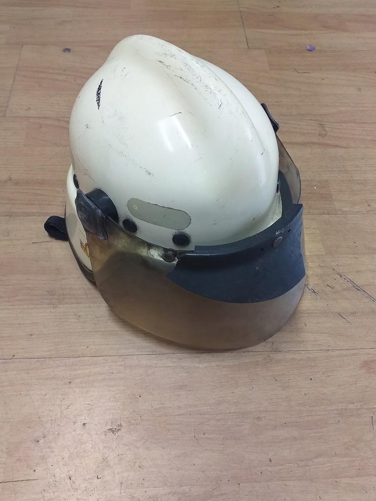 Stary hełm strażacki OSP