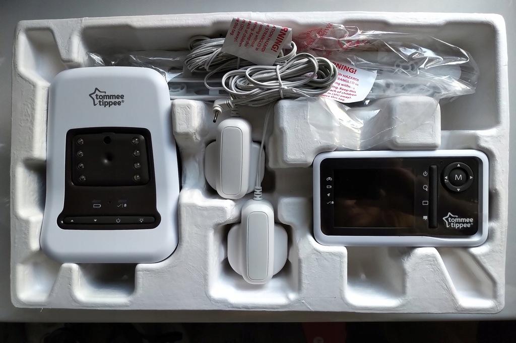 Tommee Tippee Niania Elektroniczna Monitor Oddechu 8276253675 Oficjalne Archiwum Allegro
