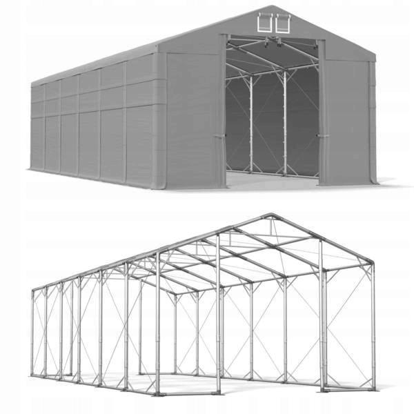 5x12m 4-4,9m Namiot magazynowy mocny wzmocniony