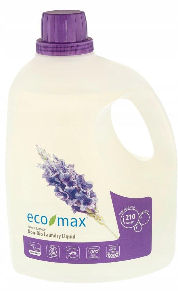 Eco-Max, Płyn do prania, lawenda, 210 prań, 6,2L