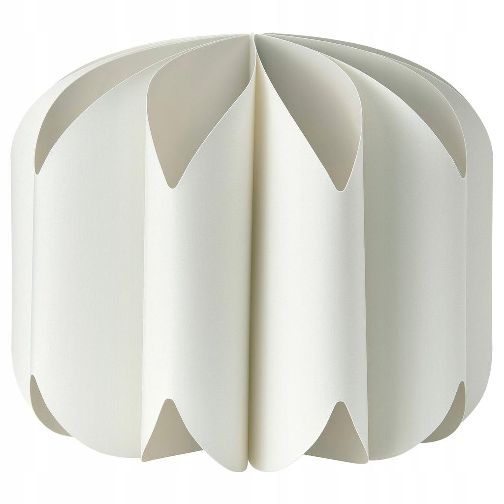 IKEA MOJNA Klosz lampy wiszącej tkanina/biały 47cm