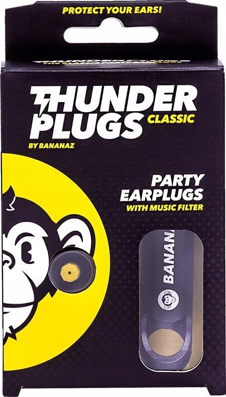 Thunderplugs Classic stopery muzyczne, zatyczki