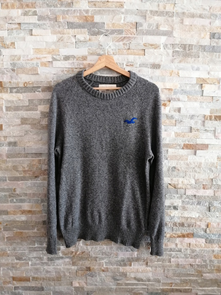 HOLLISTER Sweter super styl L