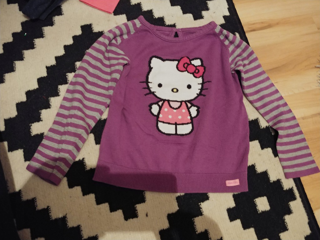 M&S bluzeczka sweterek kotek 5l+ 110cm bdb