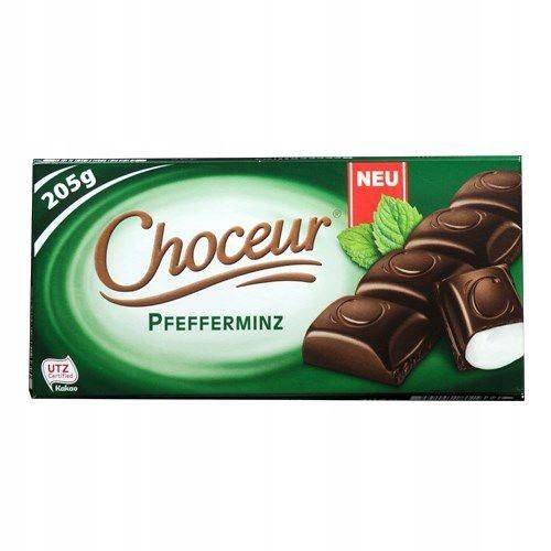Choceur Pfefferminz - Czekolada deserowa z Miętą 2