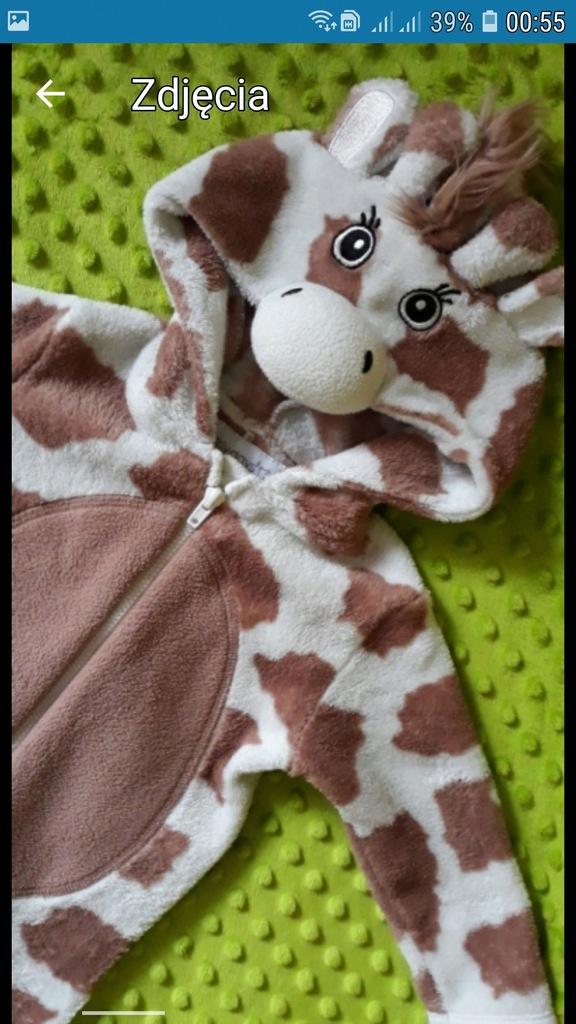 Ubranko body zyrafa