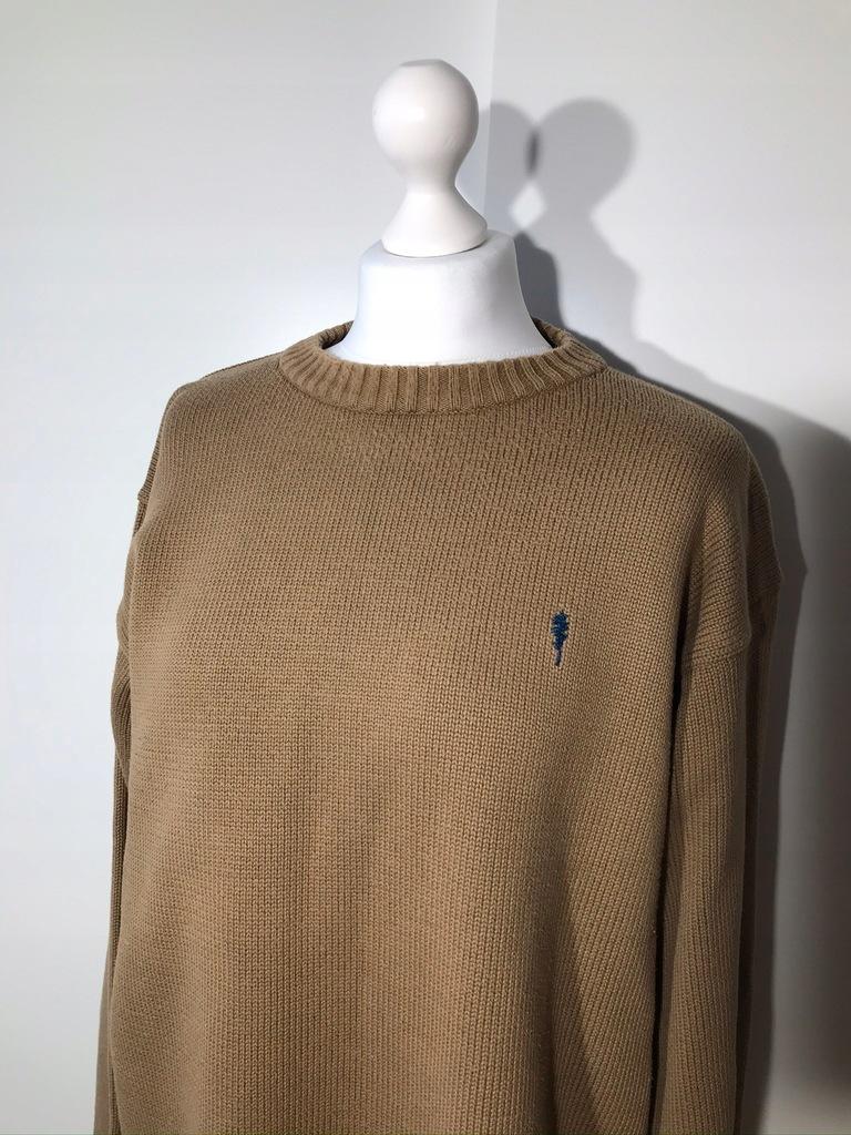 Sweter męski REDWOOD brązowy XXL