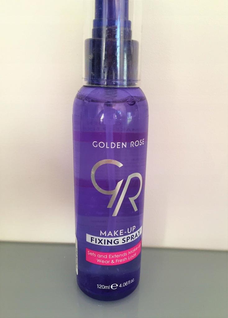 Golden Rose Fixing Spray Utrwalacz makijażu GRATIS